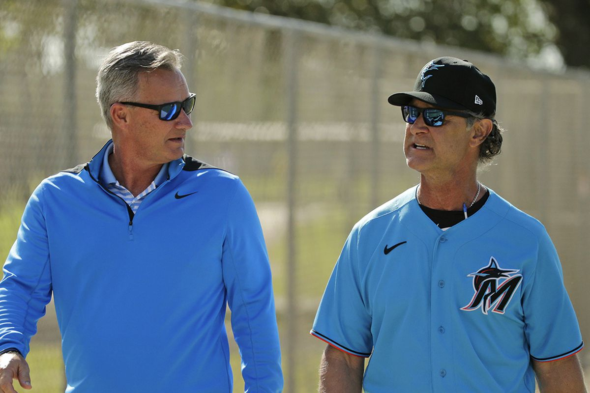 Mattingly has seen the Marlins' rebuild unfold. His goal now: 'Get to the finish line.'