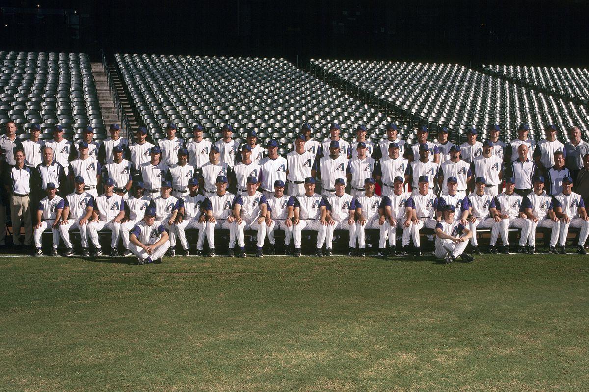 Arizona Diamondbacks 2004 Team Photo