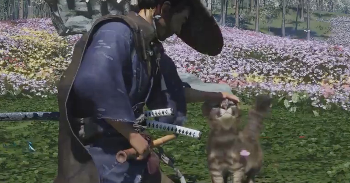 Ghost of Tsushima's dark new expansion has fuzzy cats to pet