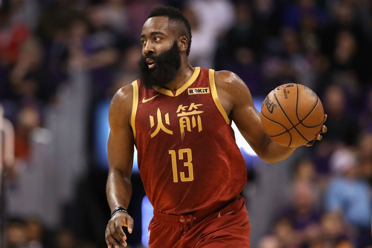 Going lengths to keep James Harden's 30-point streak alive ...