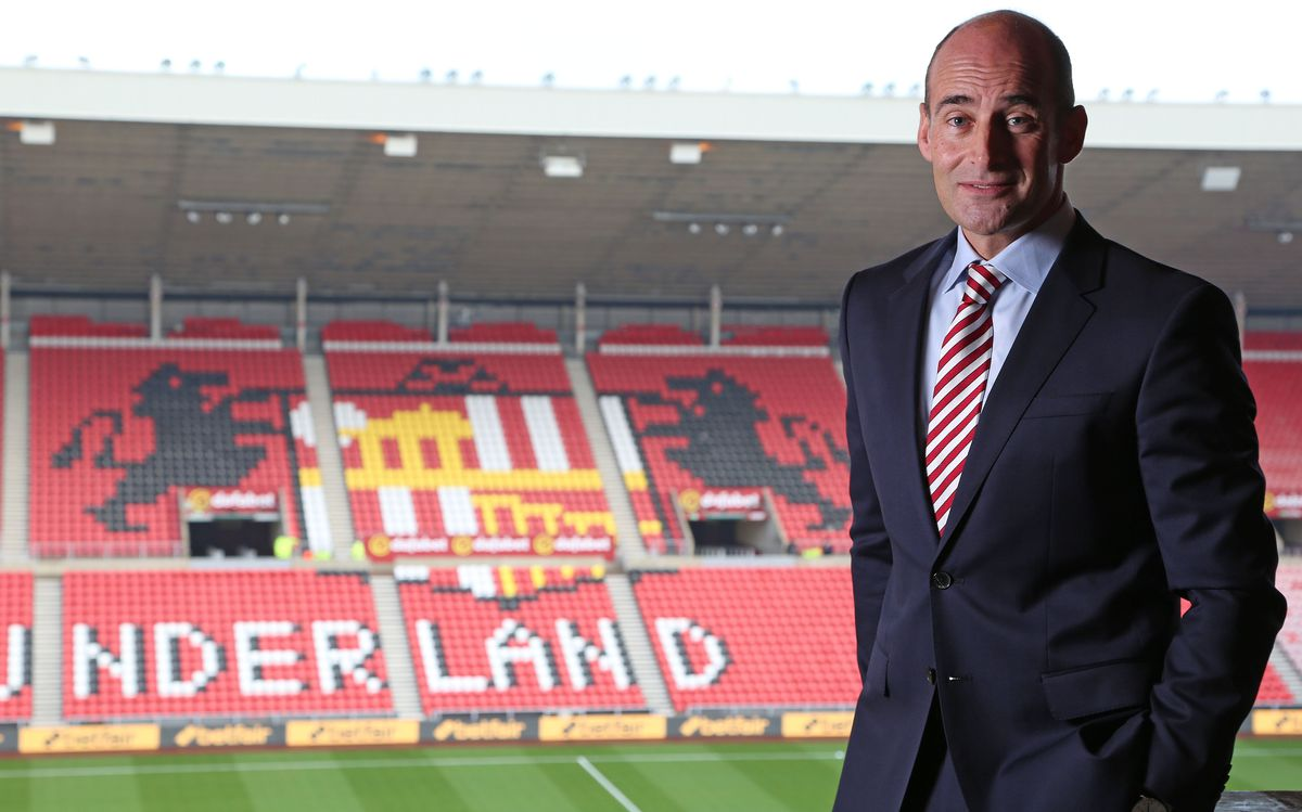 Sunderland Chief Executive Martin Bain Portrait Shoot