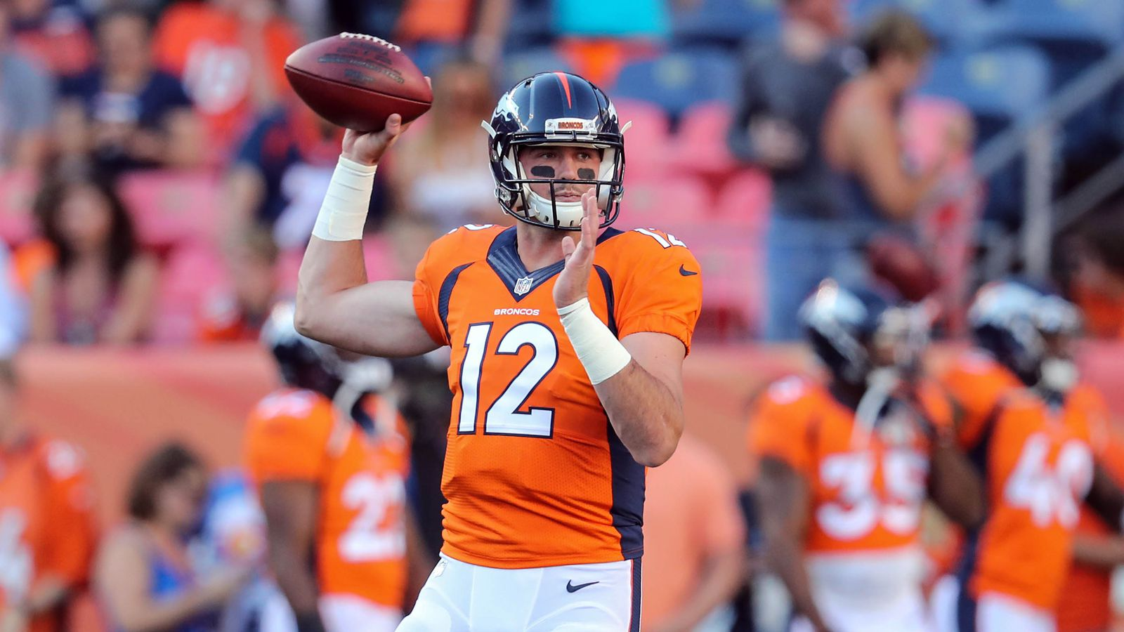 Paxton Lynch contract and salary cap details full contract breakdowns salaries signing bonus roster bonus dead money and valuations