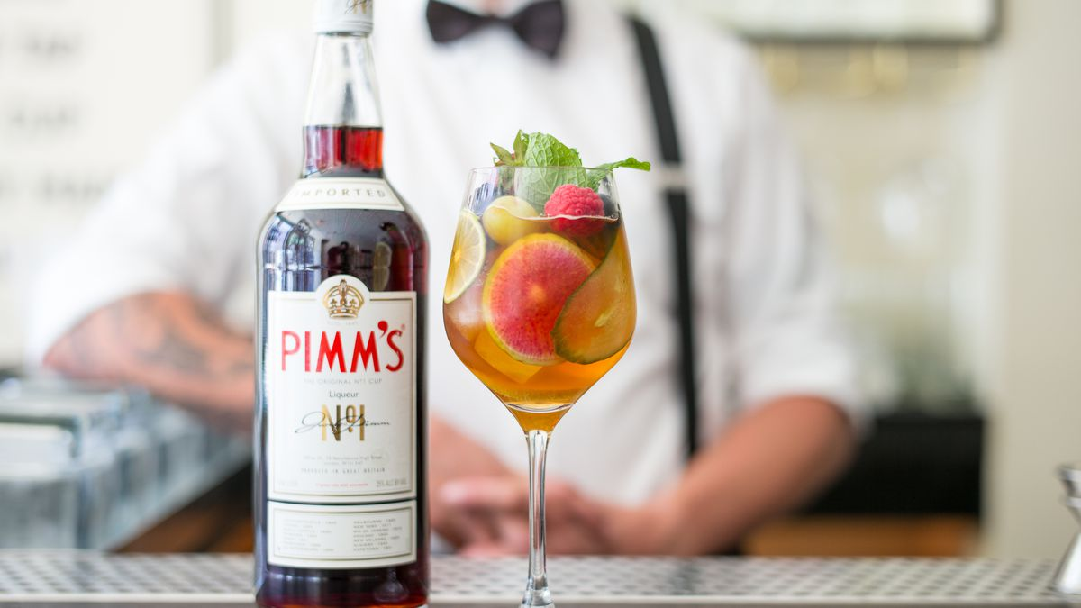 A Pimm's Cup from Dante in New York.