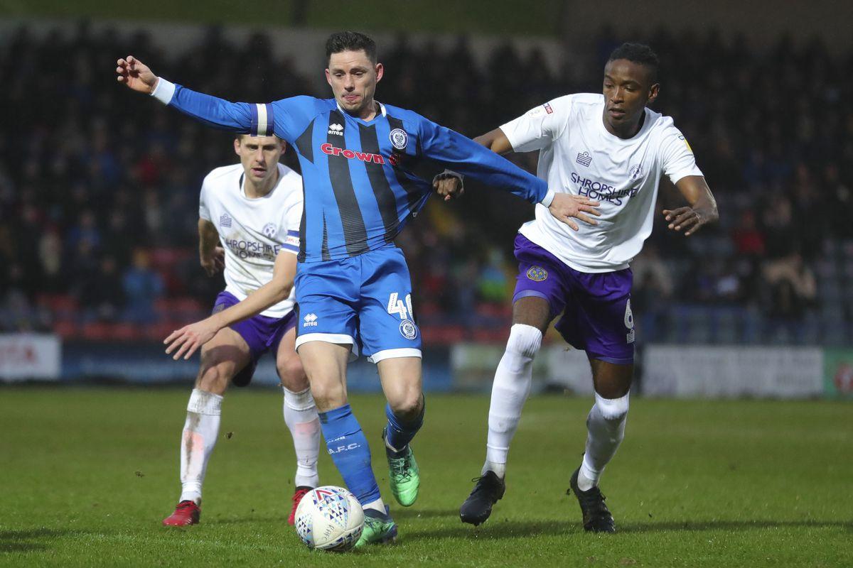 Rochdale v Shrewsbury Town - Sky Bet League One