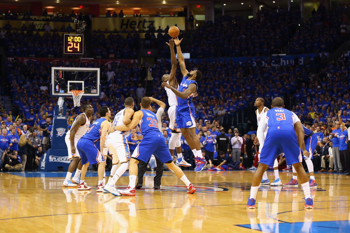 In the NBA, unlike school, everyone starts with a C. And a tip-off.