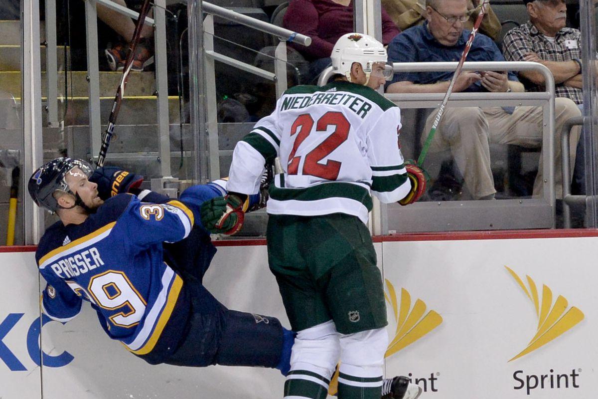 NHL: Preseason-Minnesota Wild at St. Louis Blues