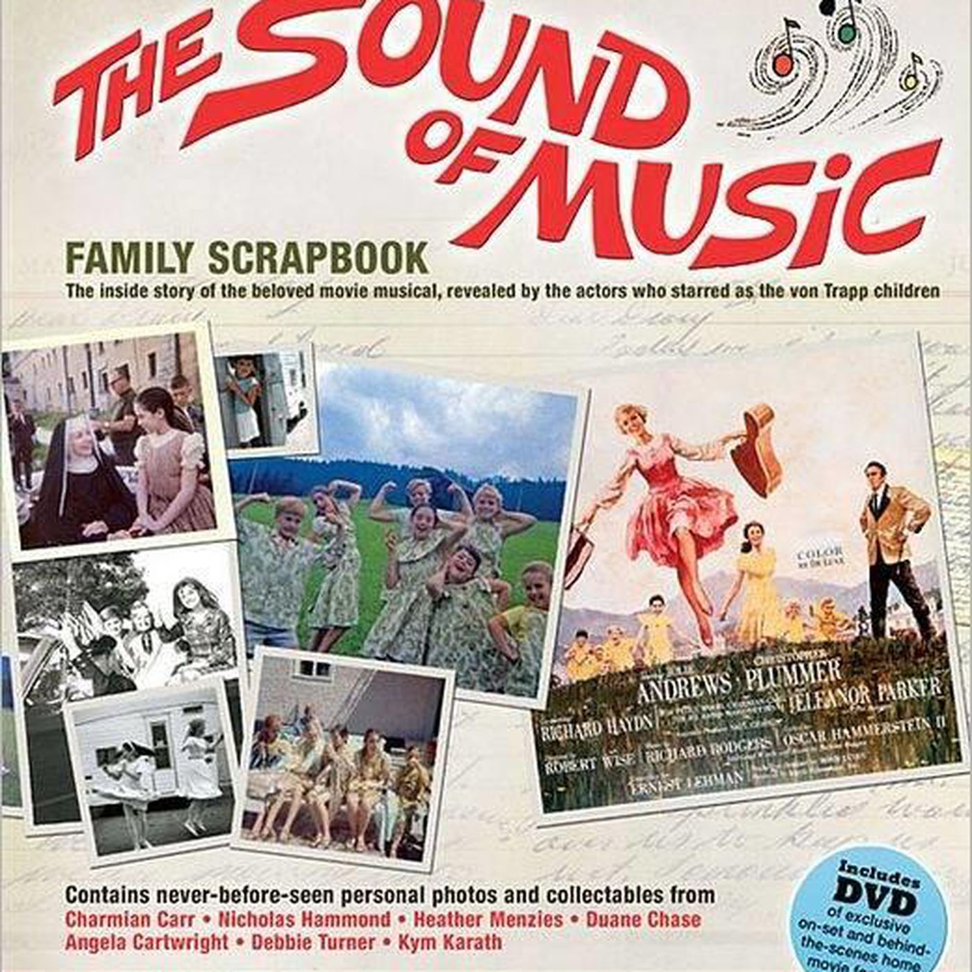 Angela Nicholas Movies book review: 'scrapbook' of child actors' 'sound of music