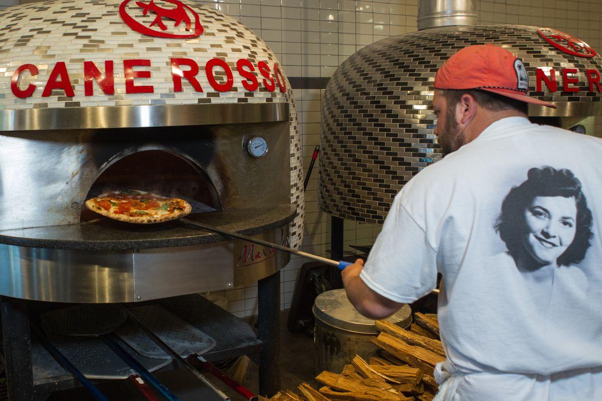 Chef Adam Brick at Cane Rosso