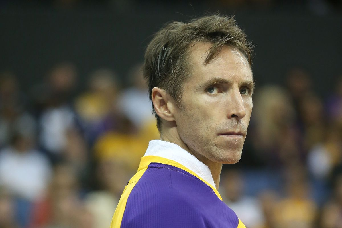 And it's 27 days and counting for Nash being out of the Laker lineup ...