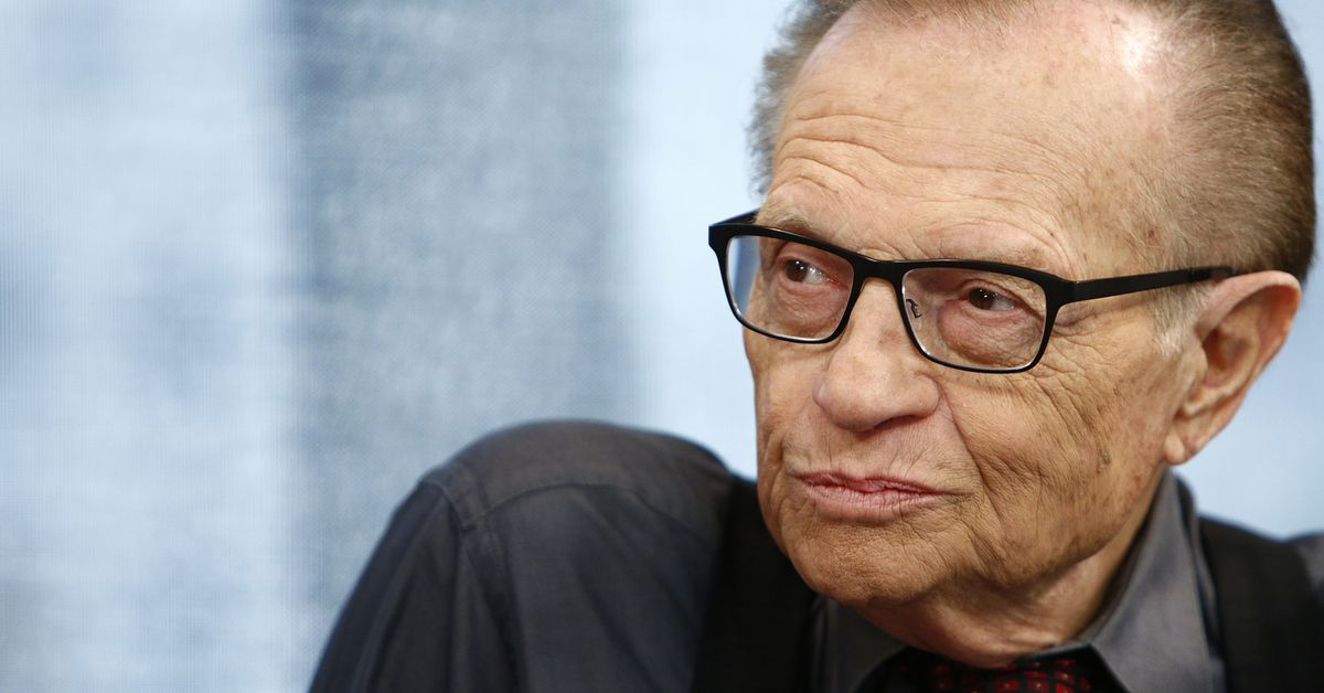 Radio and TV host Larry King dies at 87