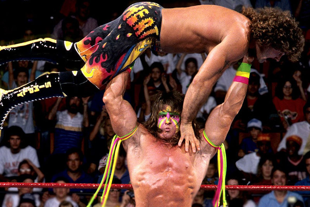 """The perfect image of a mentally stable man. via <a href=""""http://images.teamtalk.com/08/08/800x600/WWE-Legends-Ultimate-Warrior-800_1076366.jpg"""">images.teamtalk.com</a>"""