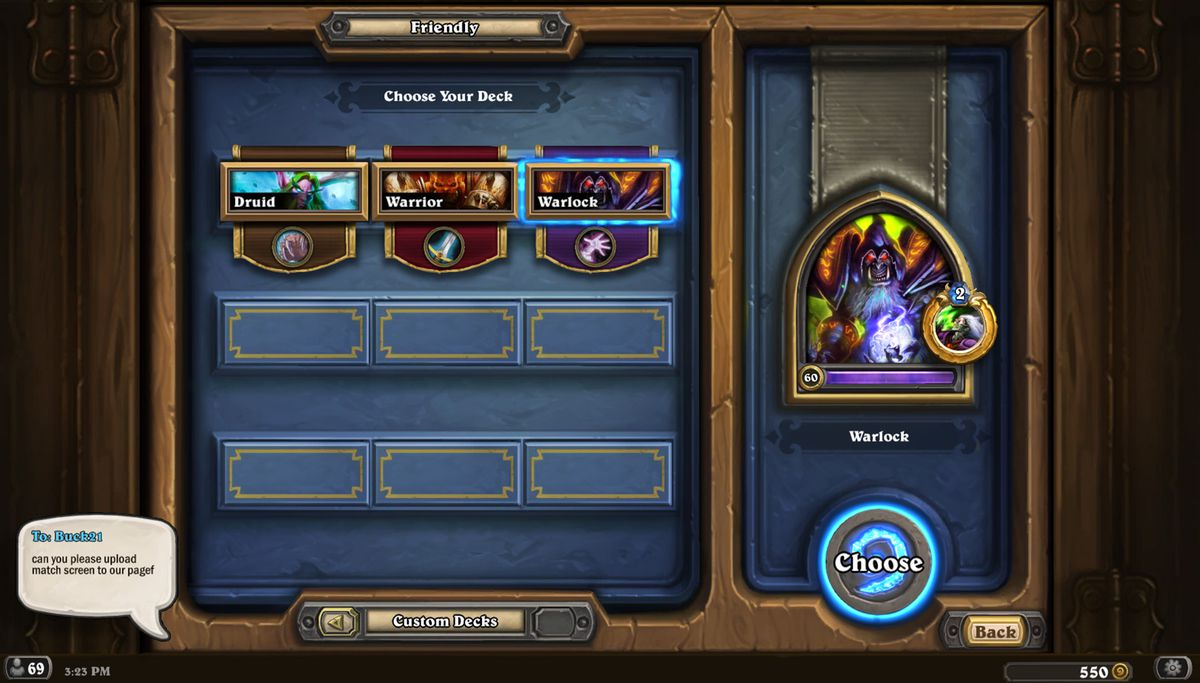 Hearthstone Redwall420 competitive