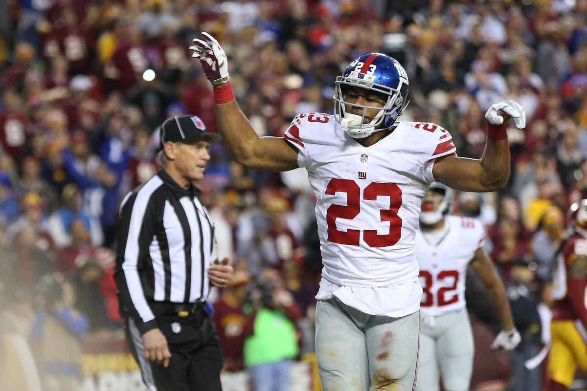 Rashad Jennings retires as a Giant - Big Blue View