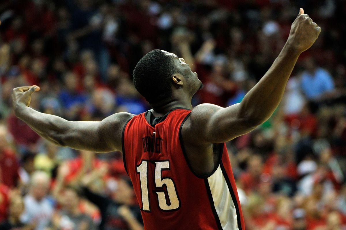 It looks like Anthony Bennett has reached the top of the basketball mountain ...