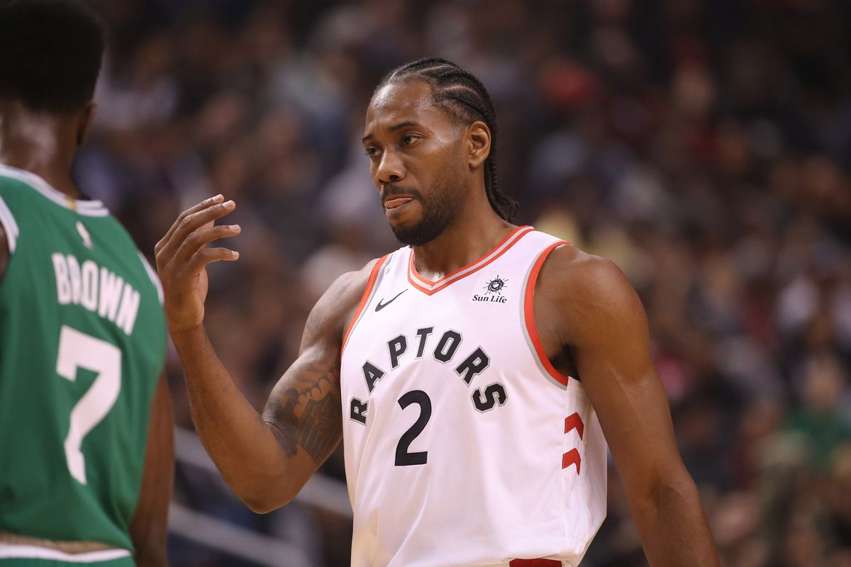 Image result for kawhi leonard raptors usa today