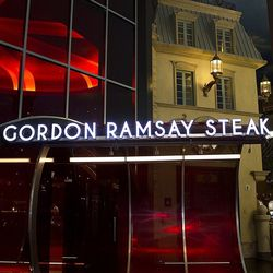 The exterior of Gordon Ramsay Steak.