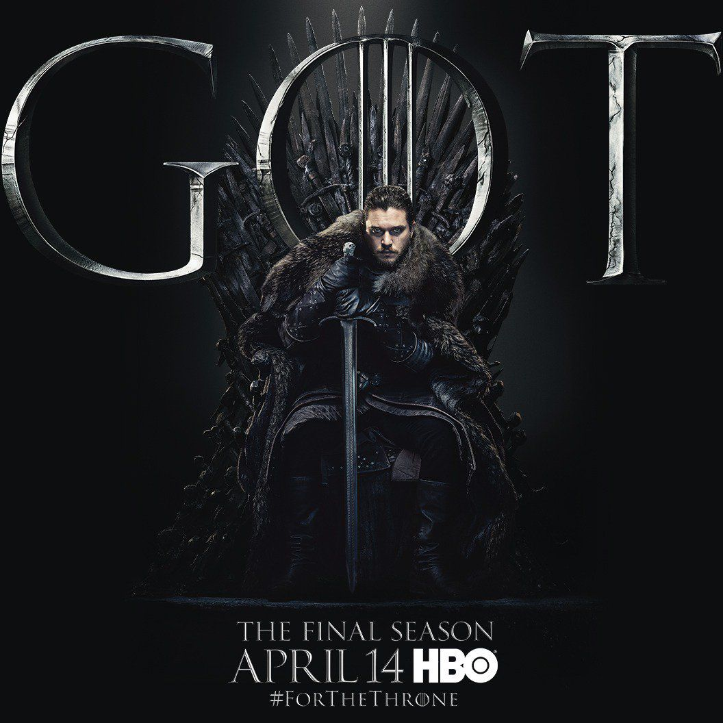 Jon Snow's (Kit Harington) strongly mimics a poster from Season 1, where Ned Stark (Sean Bean) sat on the throne hunched over a sword. Jon, by contrast, looks far more determined than his father – or rather, uncle – did. Scroll through to see all the post
