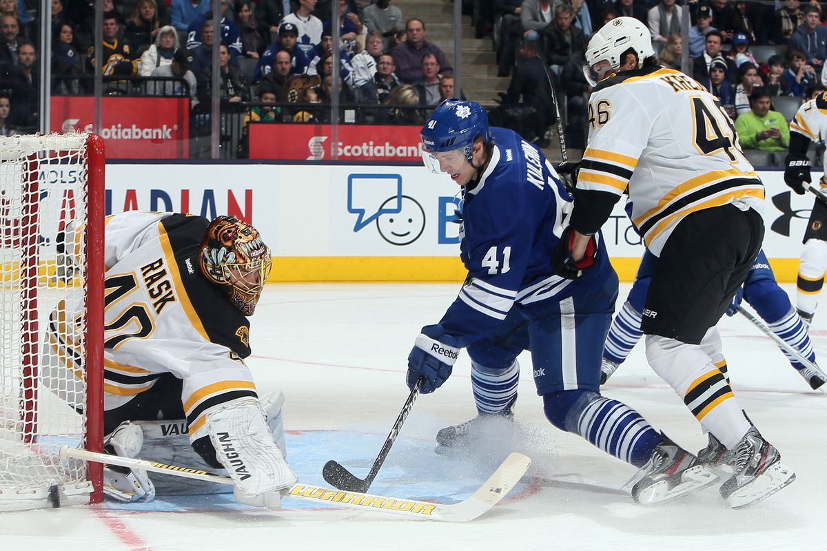 meet 1f25a b3734 Toronto Maple Leafs 0 vs. Boston Bruins 1: Baby Steps ...