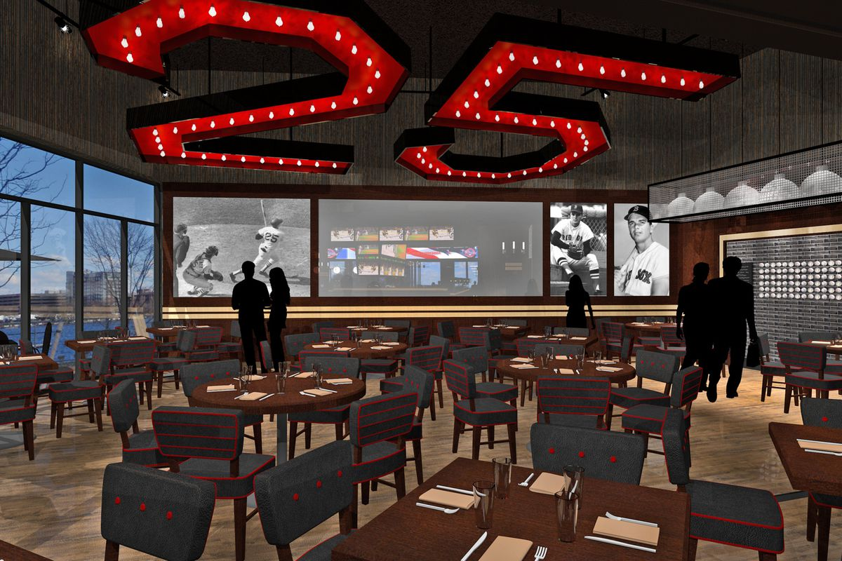 A rendering of Tony C's, another recently opened Somerville sports bar.
