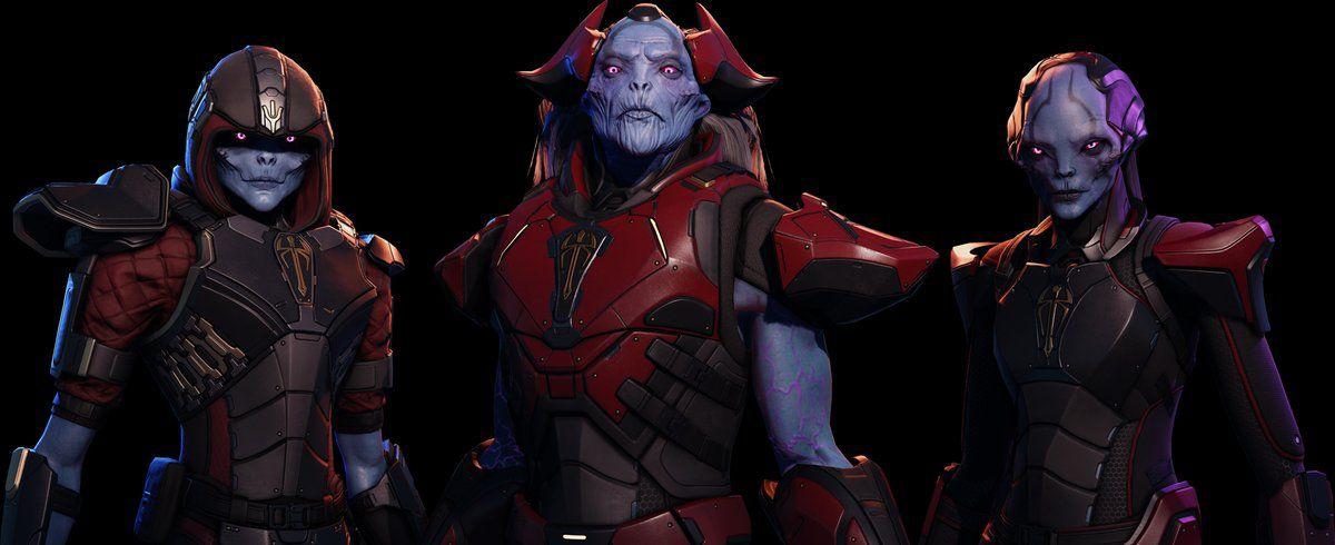 XCOM 2: War of the Chosen - three Chosen alien