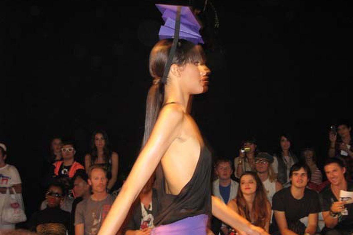 Brian Lichtenberg SS09 at BOXEight Fashion Week, October 2008