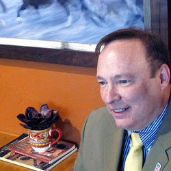 Newly-elected Democratic Party Chairman Jim Dabakis is the first openly gay leader of a state party in Utah.