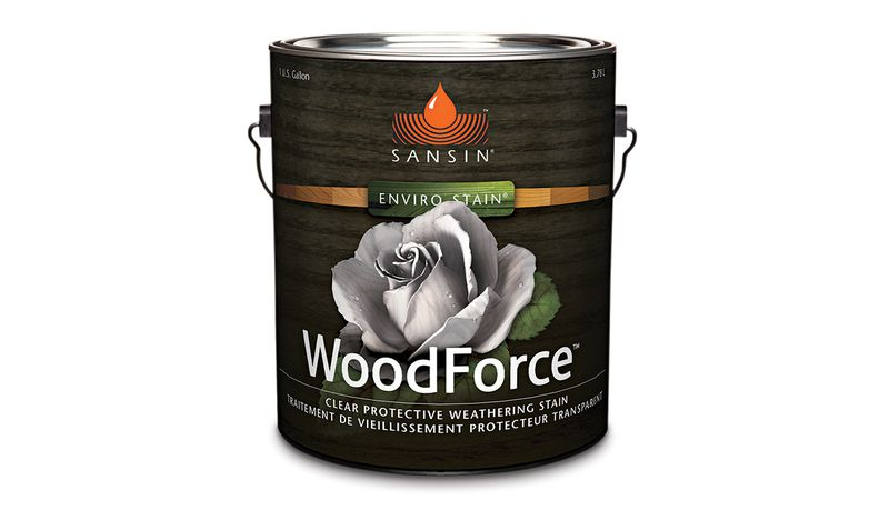 Summer 2021, What's New, water-repellent wood stain