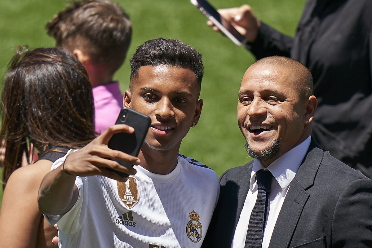 Rodrygo Is Presented As New Real Madrid Player