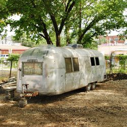 """This Airstream will be """"white-trash inspired"""" with plenty of canned beer."""