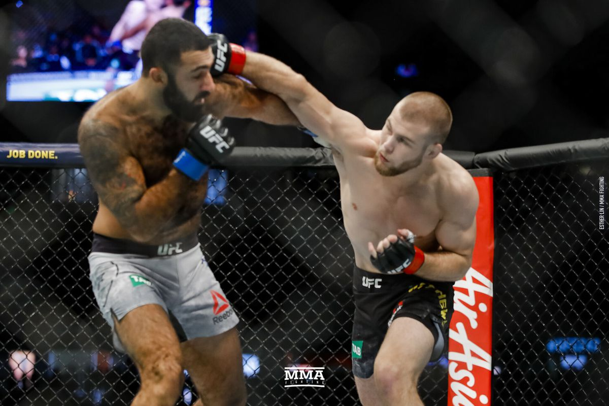 UFC 243 results: Jake Matthews pitches shutout in decision win over Rostem Akman