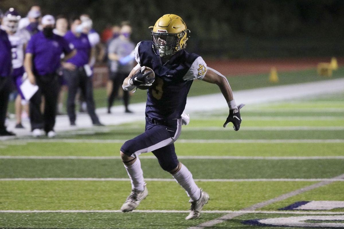 Box Elder plays Bonneville in a varsity football game at Bonneville High School in Washington Terrace on Friday, Oct. 9, 2020. Bonneville won 42-14.