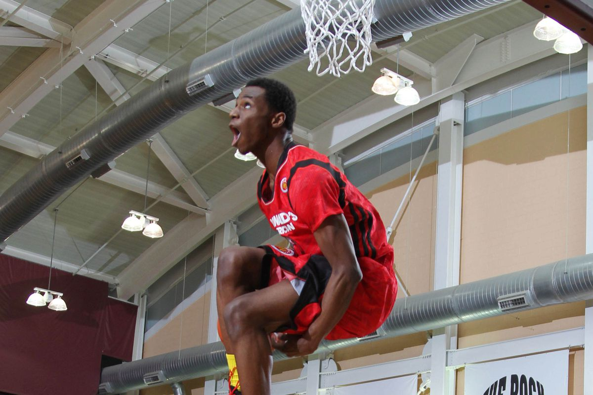 All Andrew Wiggins is doing is dropping jaws in Portland this week ...