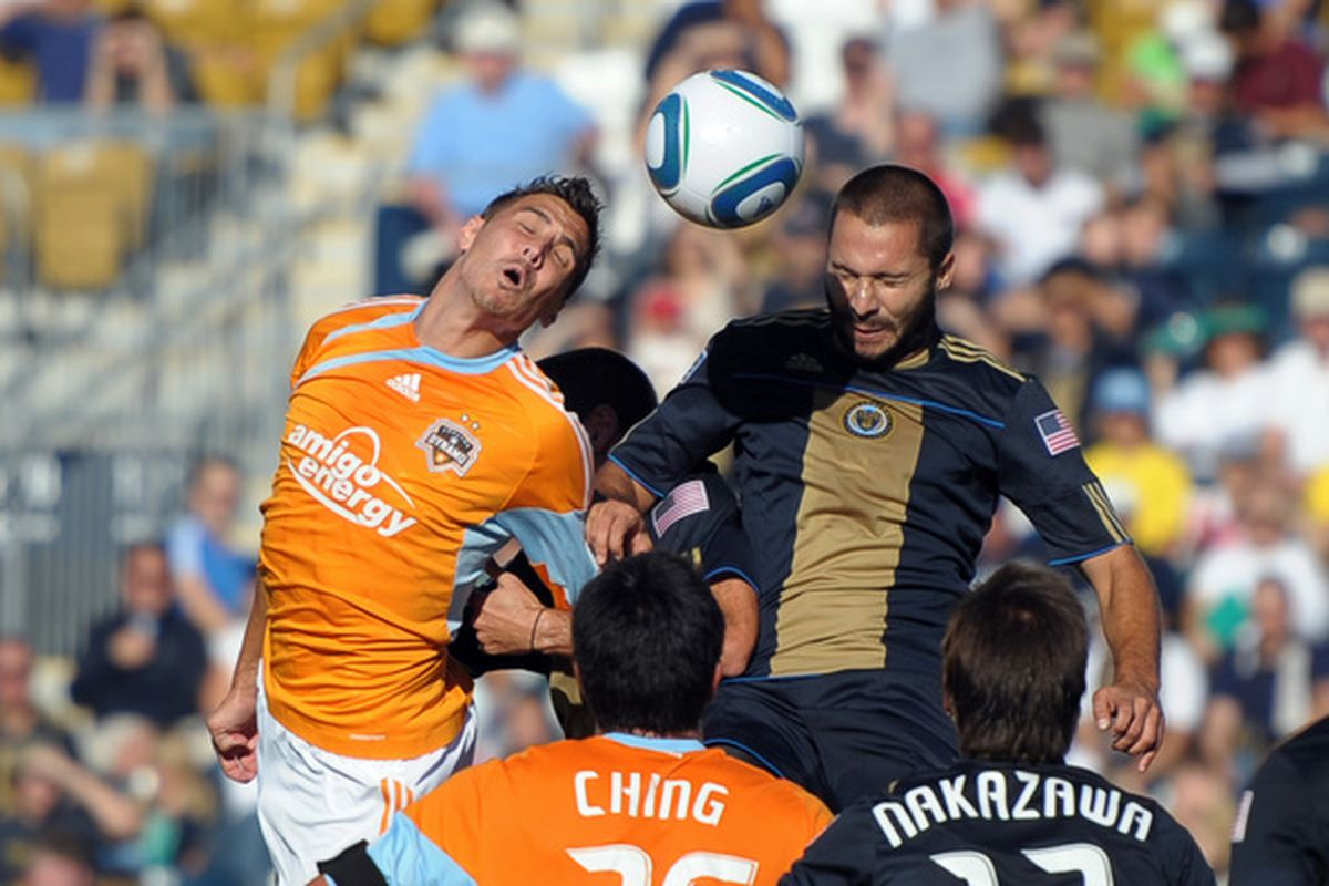 Rare photo of Juan Diego Gonzalez in action for the Union. We protected this guy?