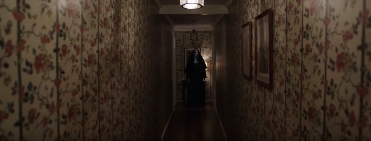 The nun in 'The Conjuring 2'