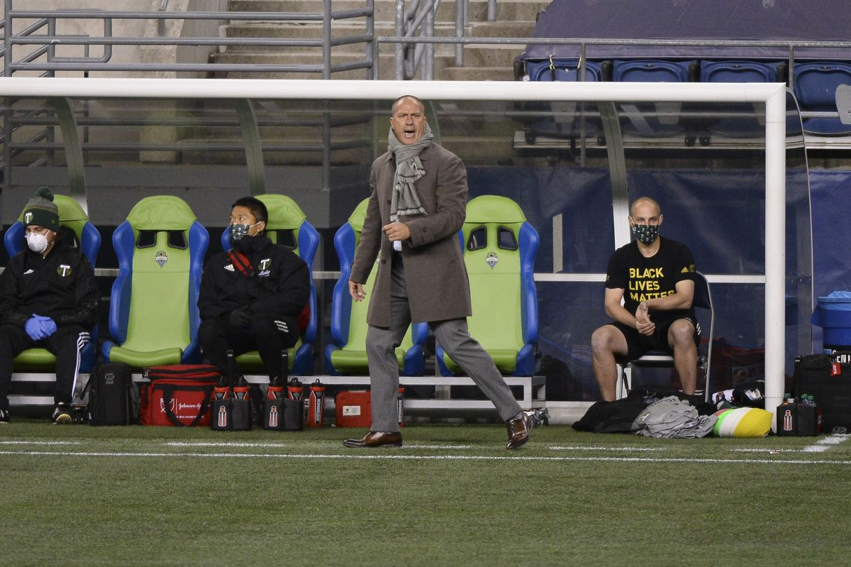 SOCCER: OCT 22 MLS - Portland Timbers at Seattle Sounders FC