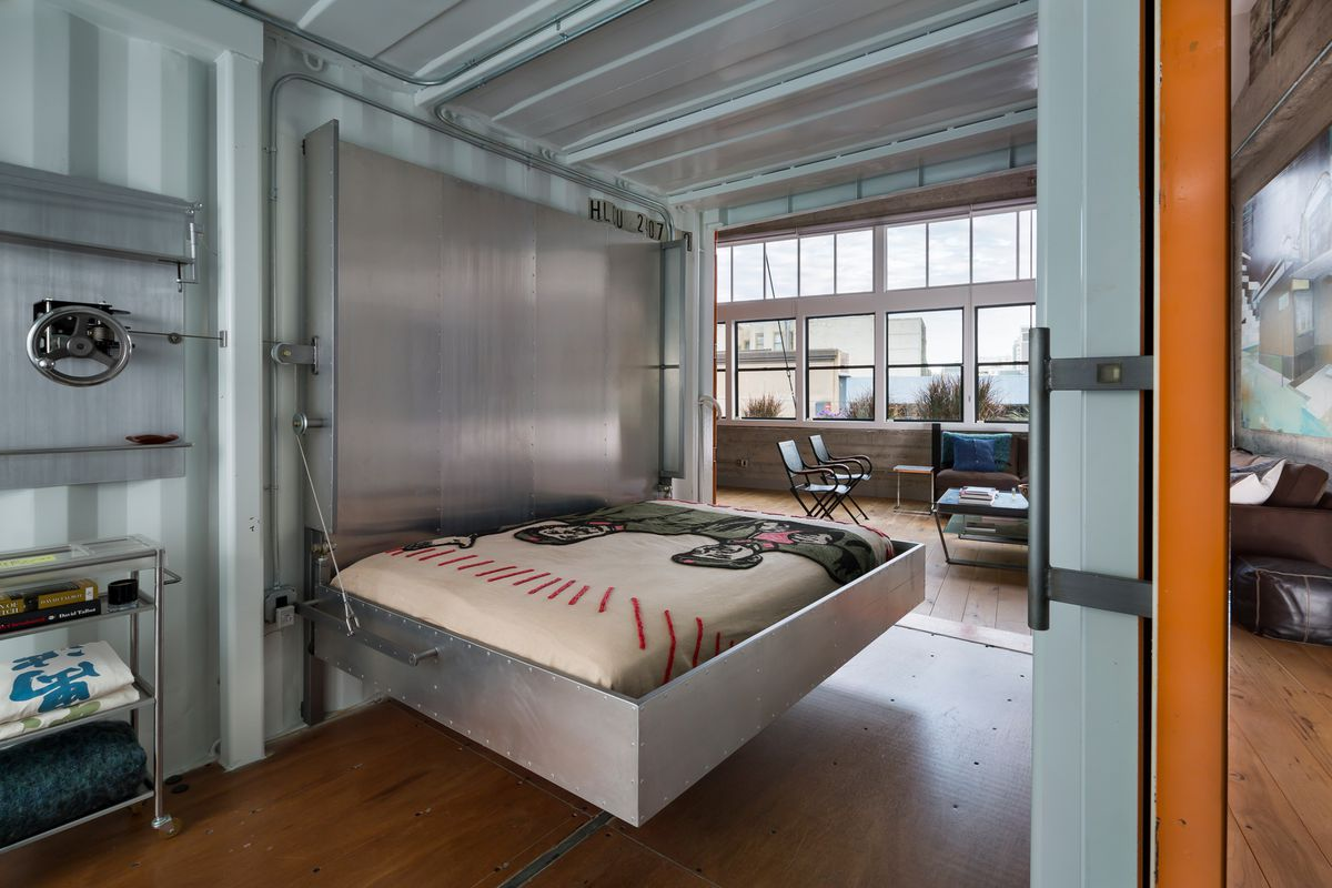 Shipping Container Home In Pacific Heights Asks 4 9 Million Curbed Sf