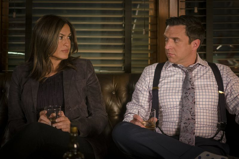 Olivia Benson and Rafael Barba in Law & Order: Special Victims Unit