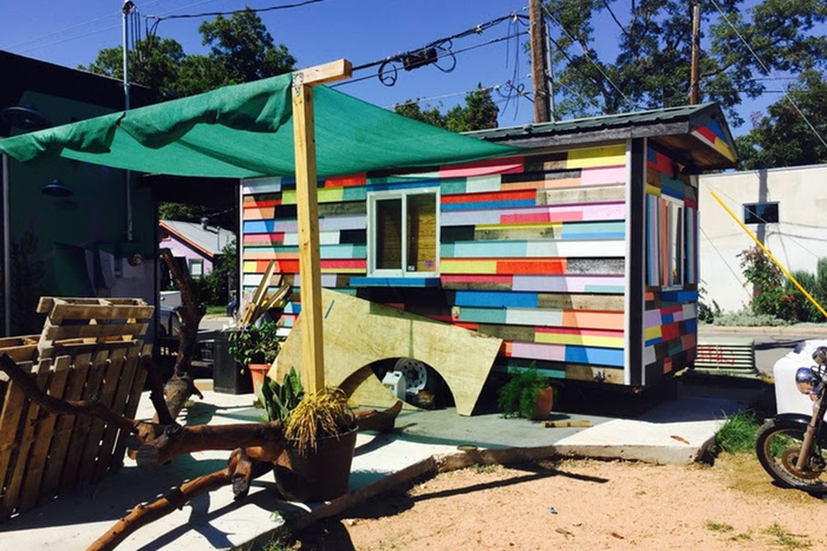 Blue Cat Cafe's food trailer