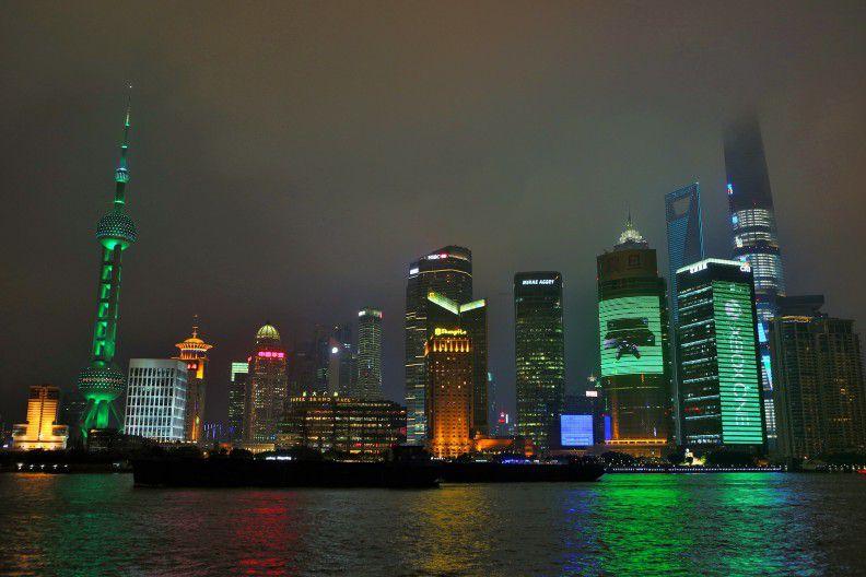 Xbox Shanghai skyline