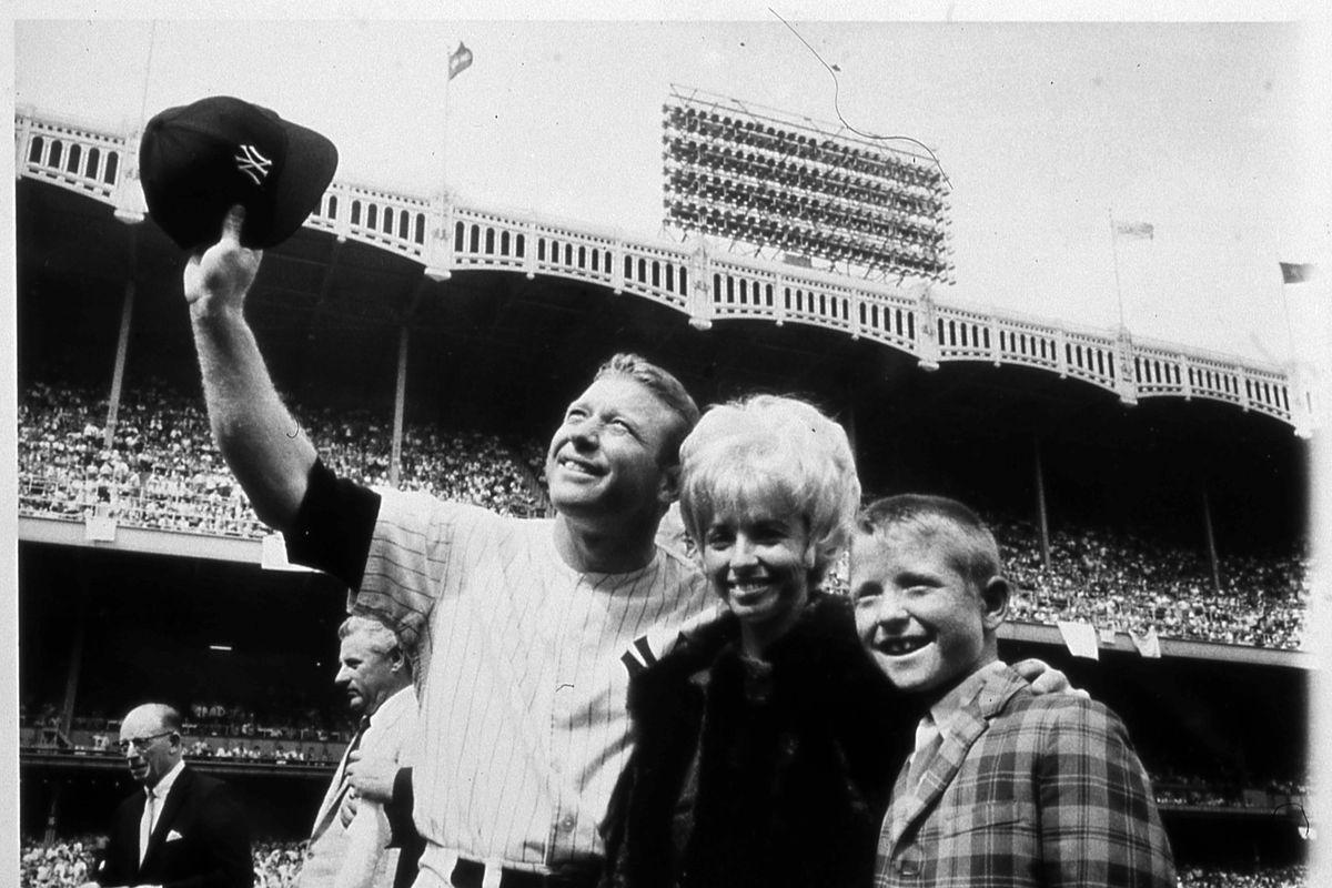 Mickey Mantle Day At Yankee Stadium