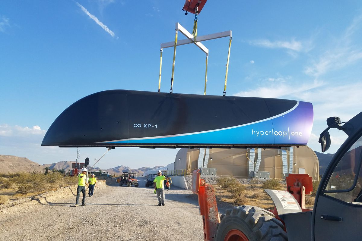 Hyperloop One completes what CEO calls 'Kitty Hawk' moment