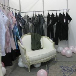 A view of their new denim range designed with Michelle Siwy.