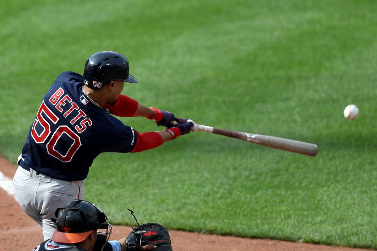 Mookie Betts Drop Off Can Be Explained By A Severe Platoon