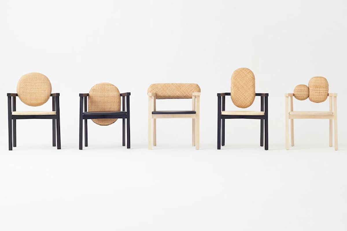 """Tokyo Tribal collection for Industry+—All photos via <a href=""""http://www.dezeen.com/2015/04/28/interview-nendo-founder-oki-sato-addicted-to-design-milan-2015/"""">Dezeen</a>"""