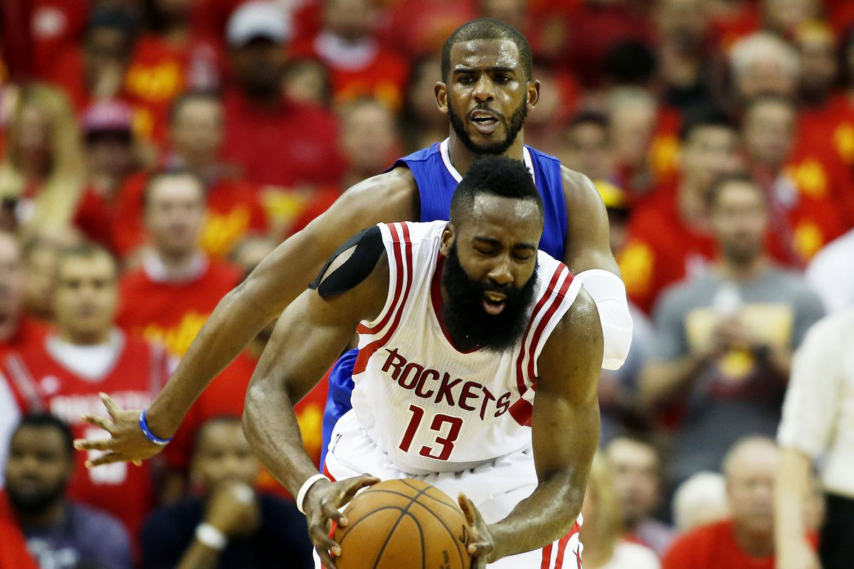 8302e128b880 Chris Paul and James Harden on the Rockets is the mad science experiment  the NBA needed