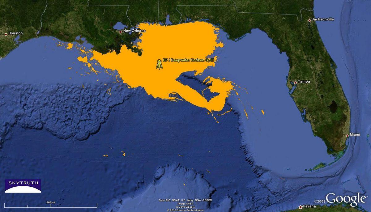 SkyTruth BP Oil spill