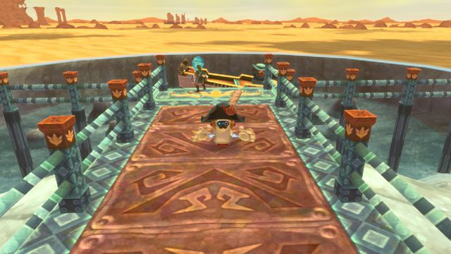 The time boat is the coolest part of Skyward Sword, and maybe any Zelda game