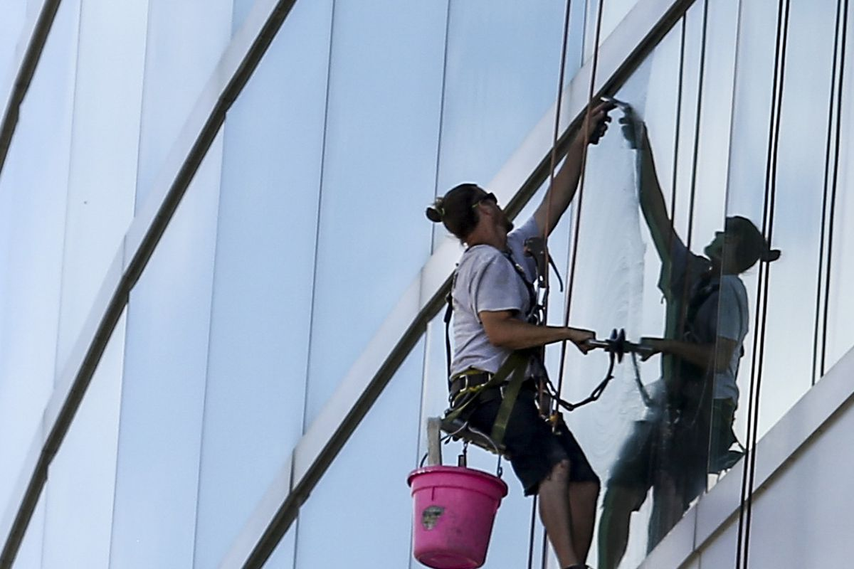 Photos: Clean windows make for a whole new ball game