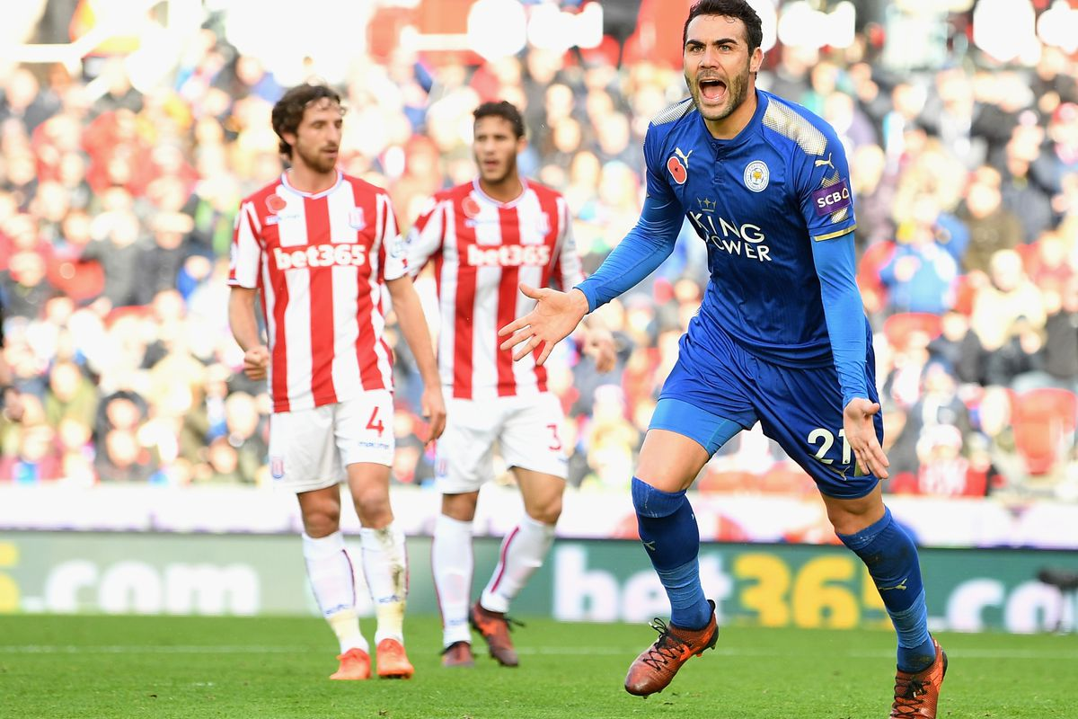 Leicester midfielder Vicente Iborra fit to face Manchester City