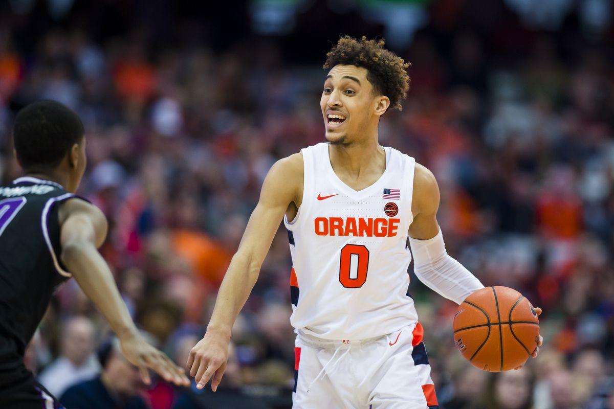 Syracuse Guard Brycen Goodine Talks Adjustment To College